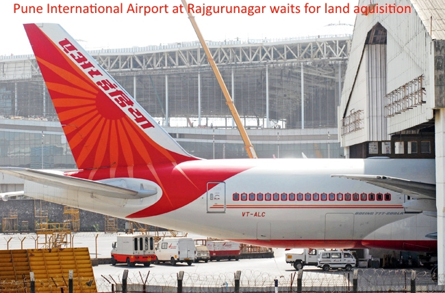 Investment in Pune around new airport