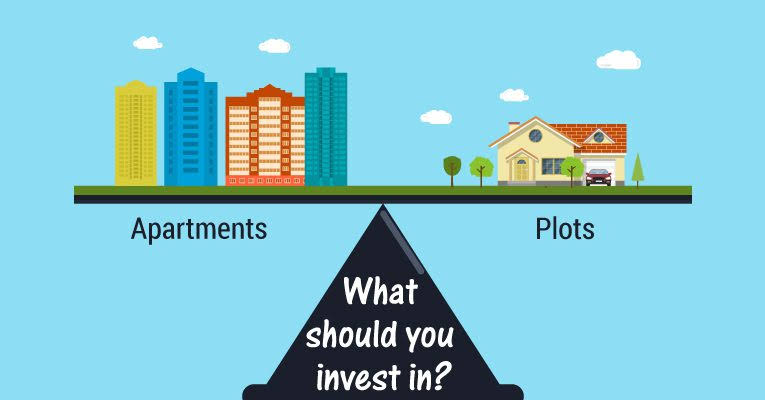 Plots vs apartments –The Better Investment