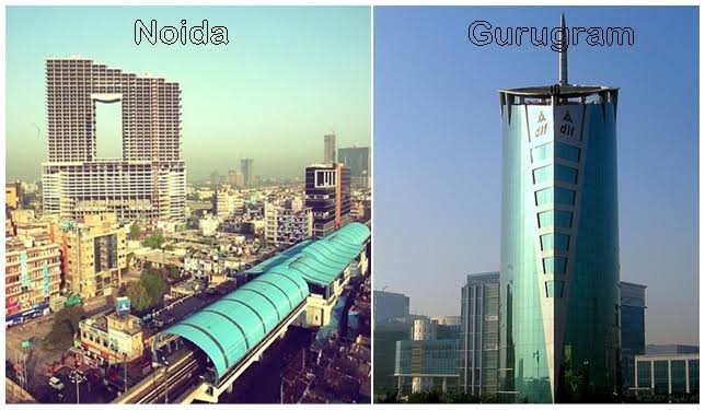 Gurgaon vs Noida – Where should you invest?